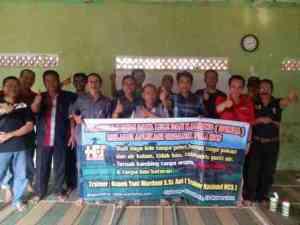 Peserta Pelatihan Dasar HCS di Cipinang, Cibatu, Purwakarta